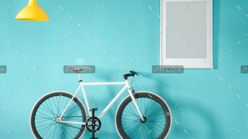 demo-attachment-11-white-bike-in-blue-interior-PMNFYVU